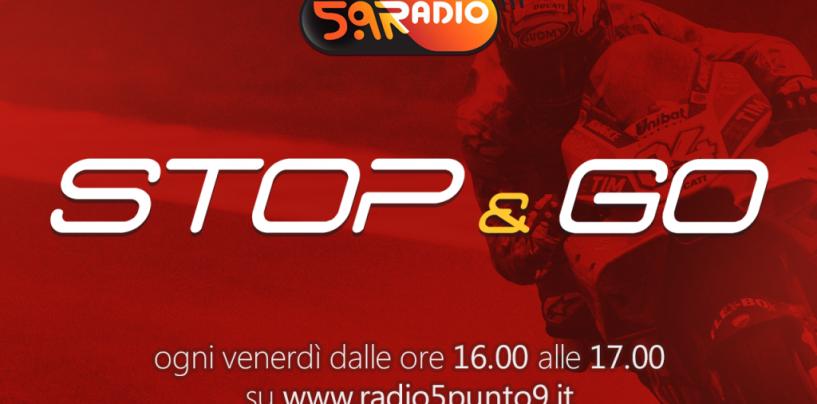 """<span class=""""entry-title-primary"""">""""Stop&Go"""" live venerdì 20 ottobre alle ore 16.00 su Radio 5.9</span> <span class=""""entry-subtitle"""">La trasmissione di Passione a 300 all'ora in diretta fino alle 17</span>"""