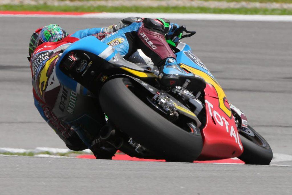 Moto2 | GP Malesia: Morbidelli in pole position nonostante una caduta