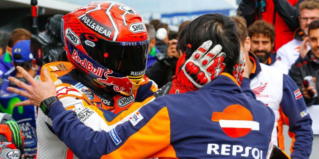 MotoGP   GP Australia: sesta vittoria dell'anno di Marquez. Colpaccio per il mondiale