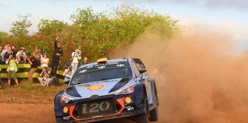 """<span class=""""entry-title-primary"""">WRC   Catalunya: Mikkelsen e Østberg iniziano al top</span> <span class=""""entry-subtitle"""">Ogier terzo, Neuville solo settimo e attardato</span>"""