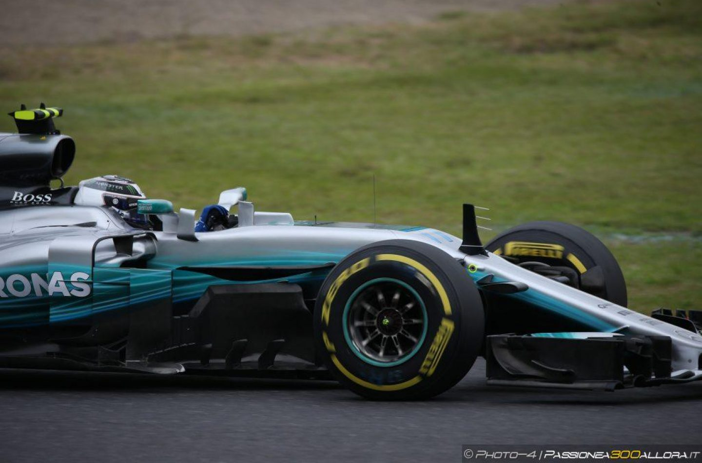 F1   Penalità in griglia per Bottas a Suzuka: +5 posizioni per sostituzione del cambio