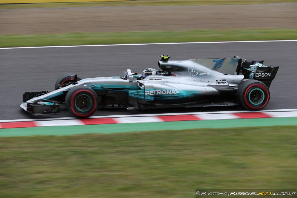 F1 | GP Giappone, FP3: Bottas il migliore, tempi poco indicativi