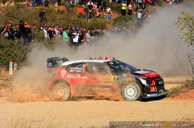 WRC | Catalunya: Meeke al comando, Ford sul podio