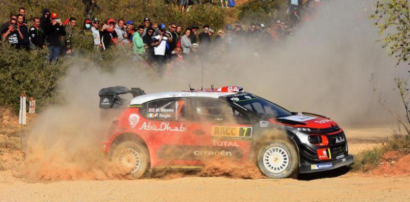 "<span class=""entry-title-primary"">WRC | Catalunya: Meeke al comando, Ford sul podio</span> <span class=""entry-subtitle"">Mikkelsen scivola quinto, problemi per Neuville</span>"