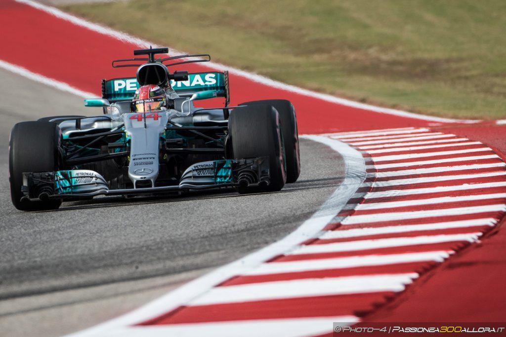 F1   GP Stati Uniti, FP3: ancora Hamilton in testa, Ferrari vicina