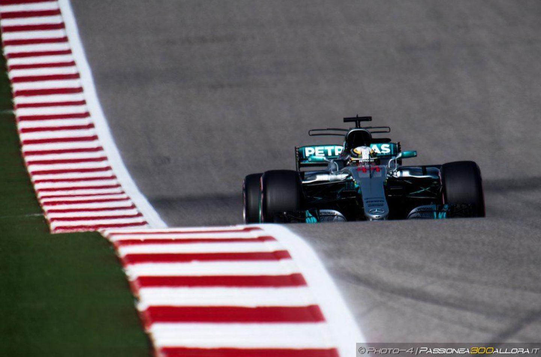 F1   GP Stati Uniti: Hamilton domina le qualifiche