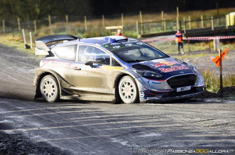 WRC   Galles: Evans brilla di notte, Ogier torna secondo