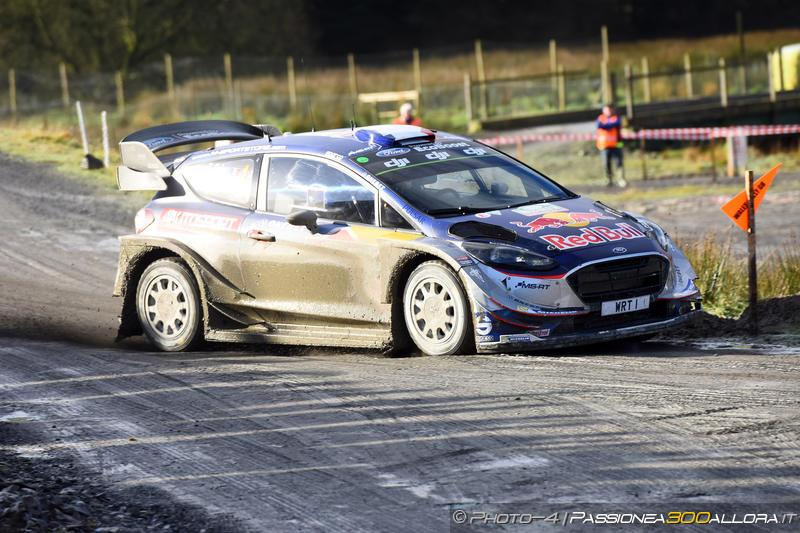 WRC | Galles: Evans brilla di notte, Ogier torna secondo