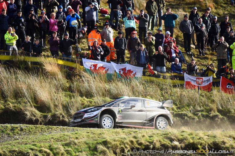 WRC | Galles: Evans imprendibile, Neuville supera le M-Sport