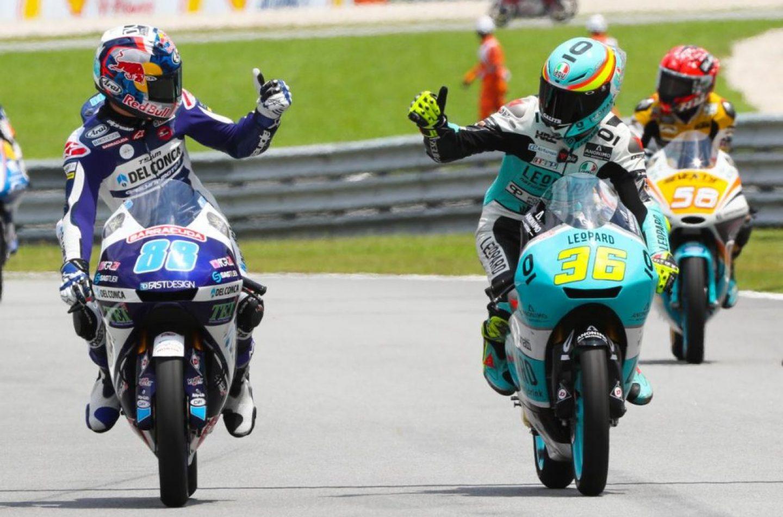 Moto3 | GP Malesia: ancora Mir, davanti a Martin e a Bastianini