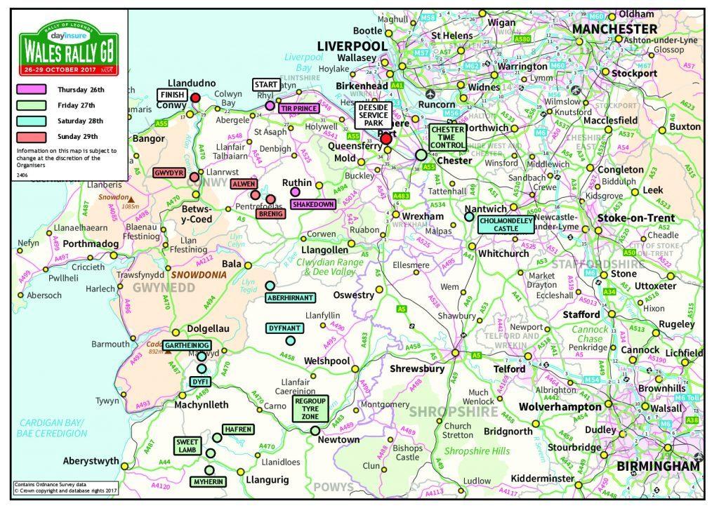 WRC   Rally del Galles 2017 - Anteprima 1