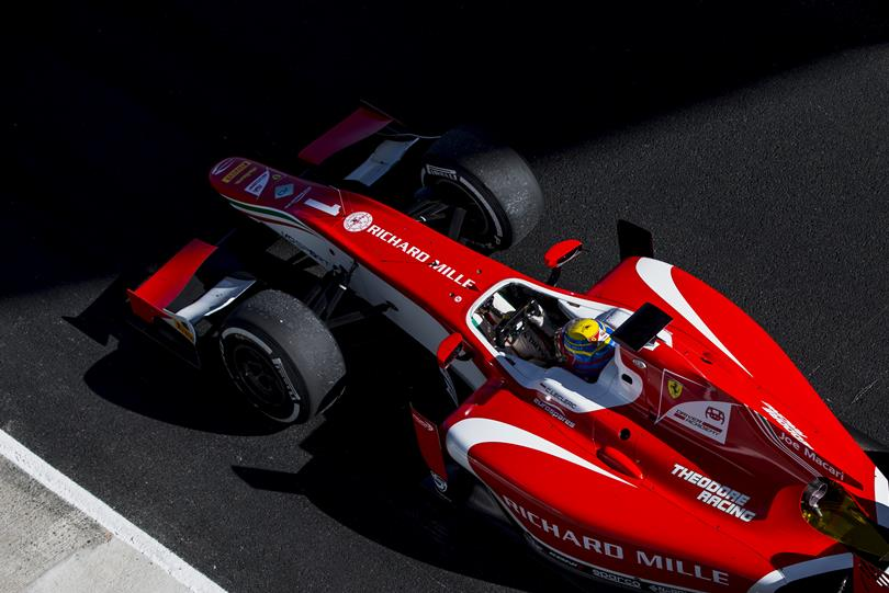 F2   Jerez: ottava pole per Charles Leclerc