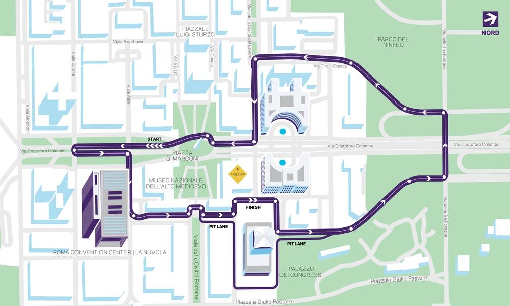 Formula E | Presentato l'ePrix di Roma 1