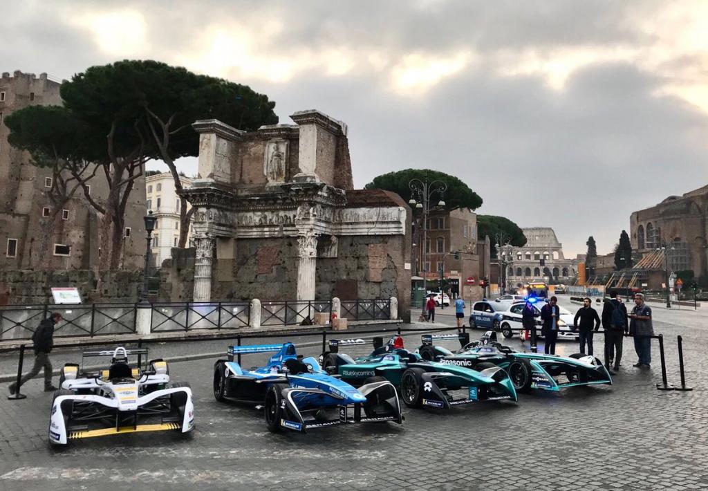 Formula E   Presentato l'ePrix di Roma