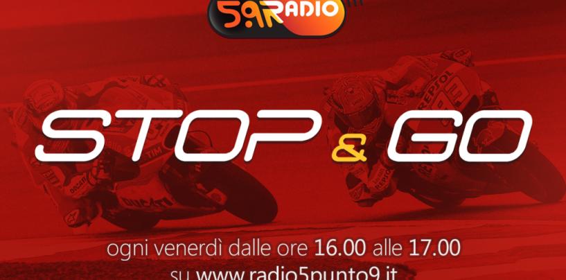 """<span class=""""entry-title-primary"""">""""Stop&Go"""" live venerdì 3 novembre alle ore 16.00 su Radio 5.9</span> <span class=""""entry-subtitle"""">La trasmissione di Passione a 300 all'ora in diretta fino alle 17</span>"""