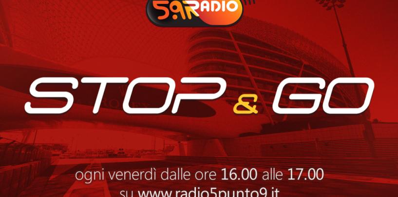 """<span class=""""entry-title-primary"""">""""Stop&Go"""" live venerdì 21 novembre alle ore 16.00 su Radio 5.9</span> <span class=""""entry-subtitle"""">La trasmissione di Passione a 300 all'ora in diretta fino alle 17</span>"""