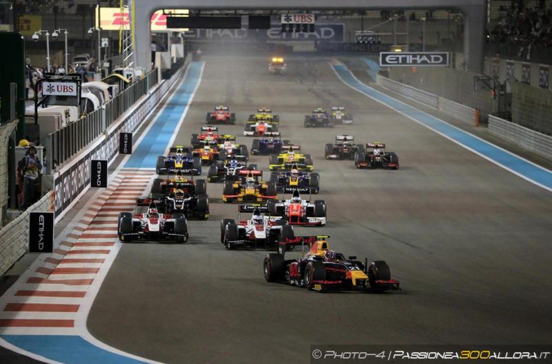 F2   GP Abu Dhabi 2017 - Anteprima