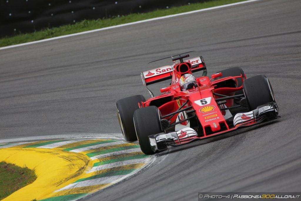 F1   GP Brasile: Vettel vince su Bottas e Raikkonen. Rimonta super di Hamilton, quarto