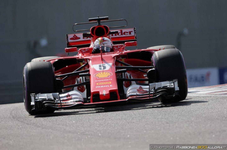 F1 | GP Abu Dhabi, FP1: Vettel primo davanti a Hamilton