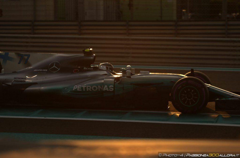 F1   GP Abu Dhabi: Bottas chiude il 2017 con una vittoria. Hamilton precede Vettel sul podio