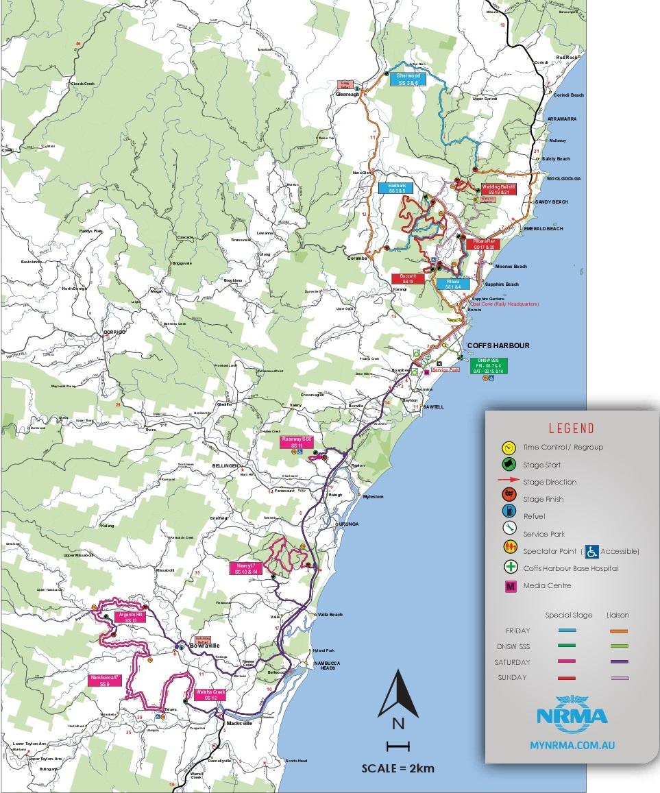 WRC | Rally d'Australia 2017 - Anteprima 1