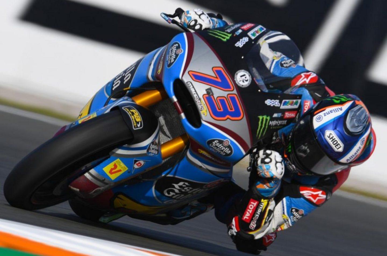 Moto2   GP Valencia: ad Alex Marquez l'ultima pole dell'anno per la classe di mezzo