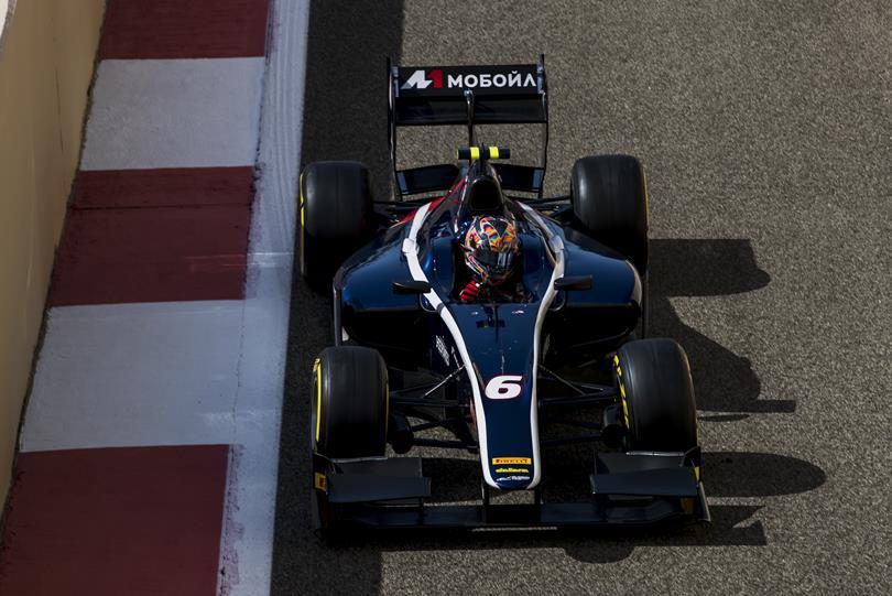 F2   Abu Dhabi: Markelov stacca l'ultima pole, Leclerc solo sesto
