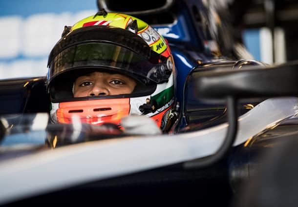 F2 | Arjun Maini escluso e poi leader nella seconda giornata di test