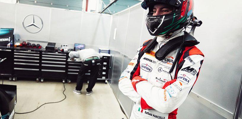 """<span class=""""entry-title-primary"""">Raffaele Marciello alla 12h di Bathurst</span> <span class=""""entry-subtitle"""">correrà con una Mercedes AMG GT3 </span>"""
