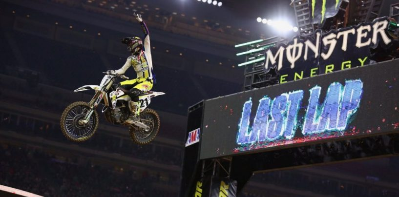 "<span class=""entry-title-primary"">Supercross 2018: a Houston vince Jason Anderson</span> <span class=""entry-subtitle"">Roczen sale sul podio, Musquin e Tomac costretti al forfait prima del main event</span>"
