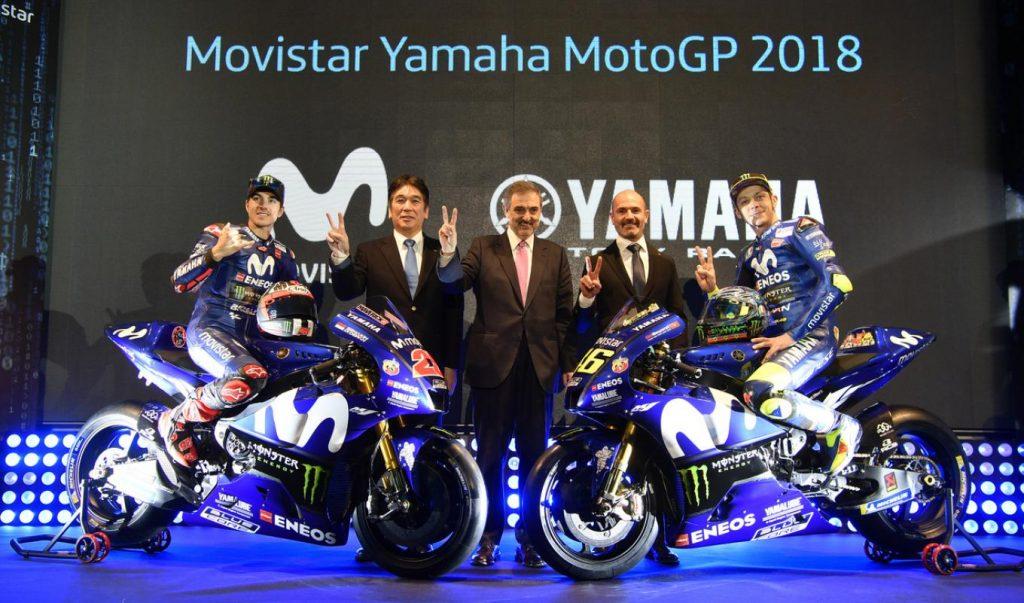 MotoGP | Presentata a Madrid la nuova Yamaha M1