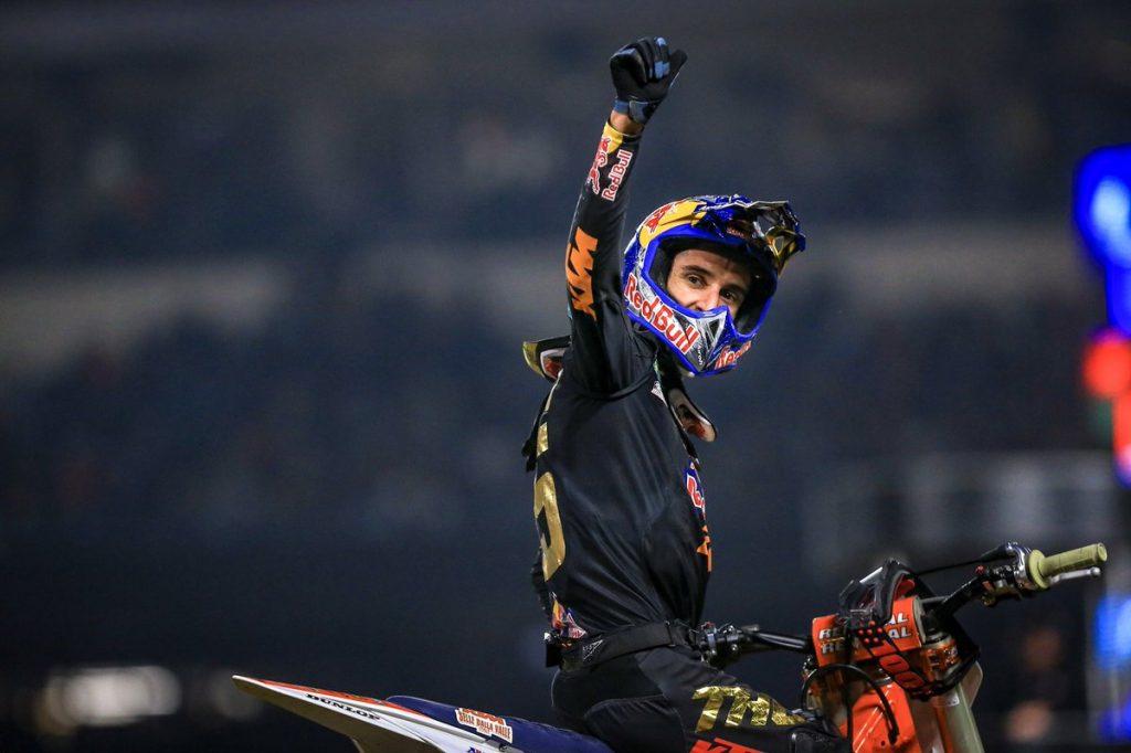 Supercross | Ad Anaheim-1 vince Musquin, Roczen 4°