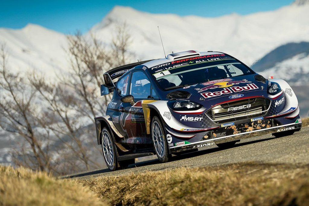 WRC   Montecarlo: Ogier vola sul ghiaccio, Neuville nei guai