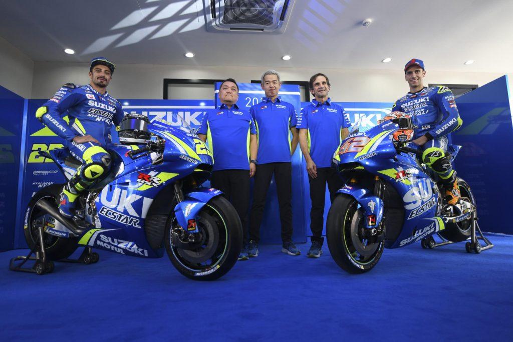 MotoGP | Presentata anche la nuova Suzuki GSX-RR