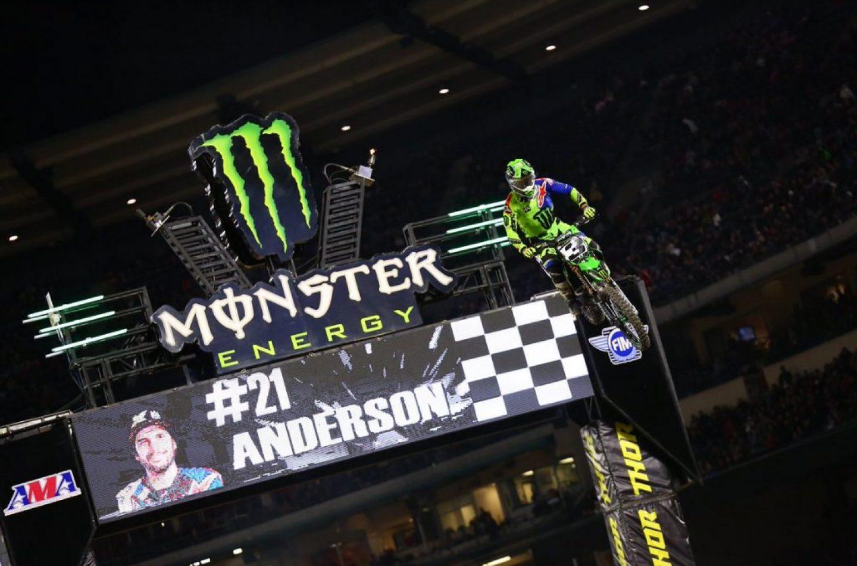 Supercross   Ad Anaheim-2 torna alla vittoria Eli Tomac