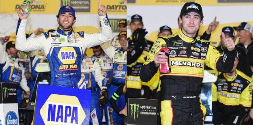 "<span class=""entry-title-primary"">NASCAR | Ryan Blaney e Chase Elliott vincono i Duel a Daytona</span> <span class=""entry-subtitle"">Bowman e Hamlin mantengono la prima fila. Incidenti per Keselowski, Johnson, Byron e Larson</span>"