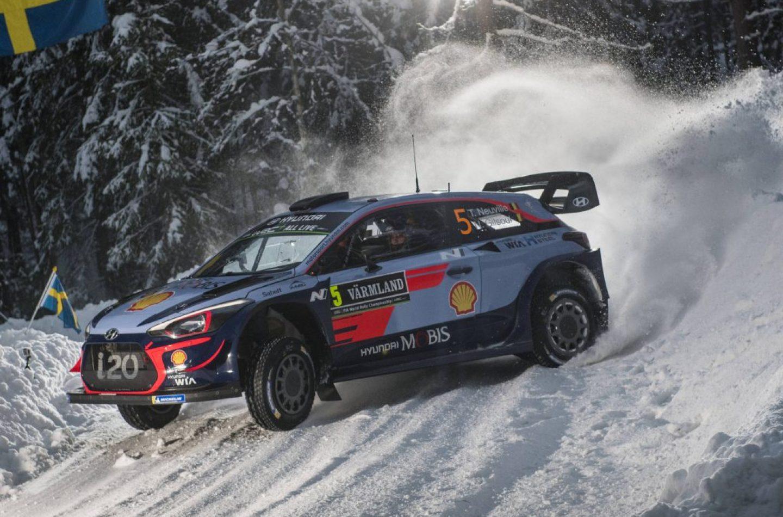WRC | Svezia: si comincia nel segno di Hyundai