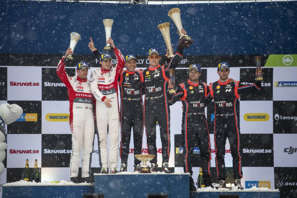 WRC   Svezia: Neuville trionfa ed è leader del mondiale
