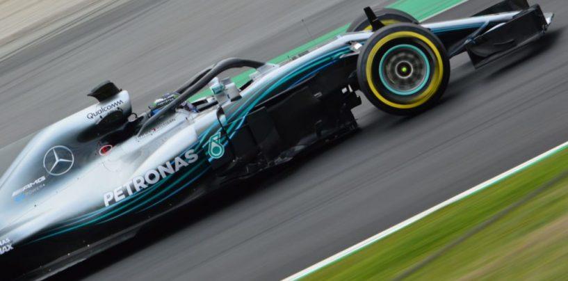 "<span class=""entry-title-primary"">F1 | GP Spagna, FP1: Bottas davanti ad Hamilton</span> <span class=""entry-subtitle"">1-2 Mercedes nelle prime prove libere a Barcellona</span>"