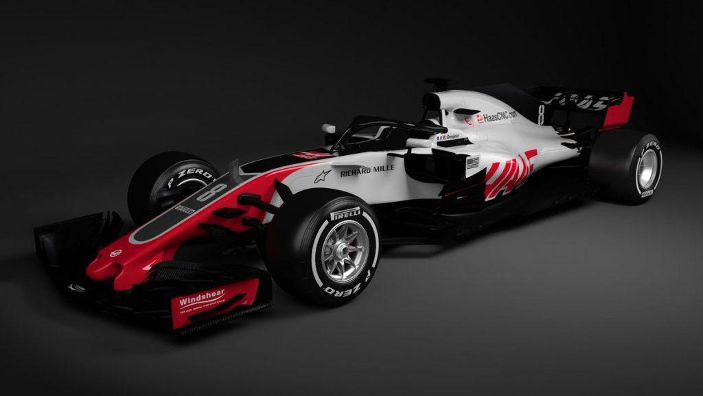 F1 | Haas: svelati i primi render della VF-18 2