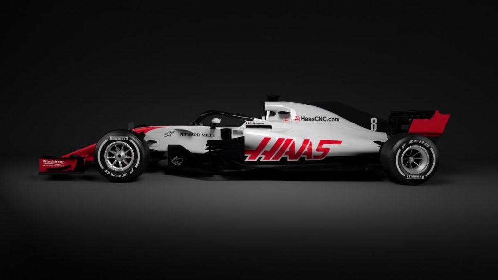 F1 | Haas: svelati i primi render della VF-18 1