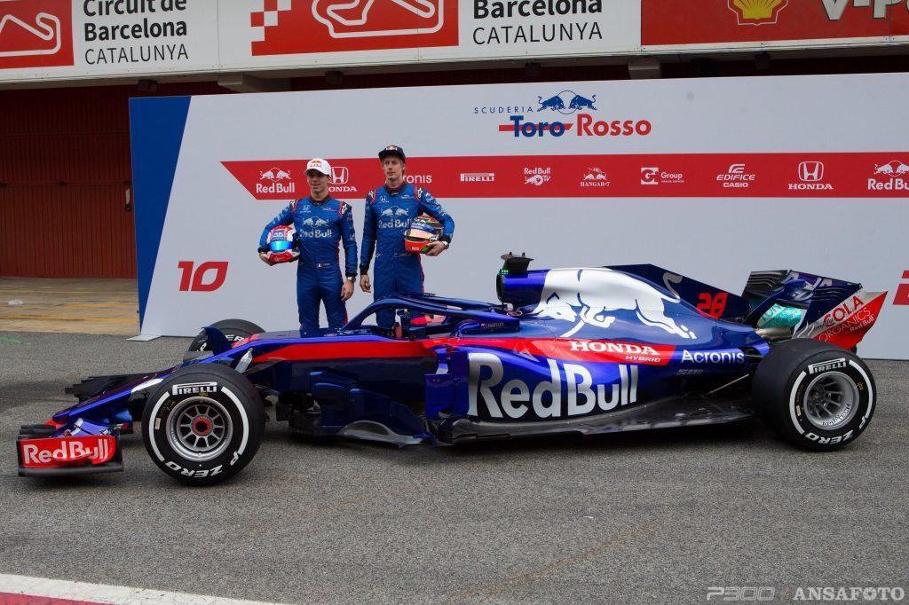 F1 | Presentata a Barcellona la nuova Toro Rosso STR13