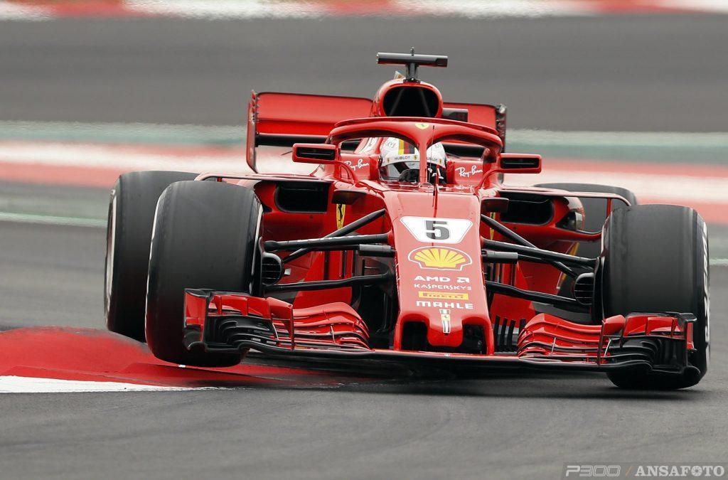 F1 | Barcellona Day 2: Vettel sfiora i 100 giri e chiude al comando