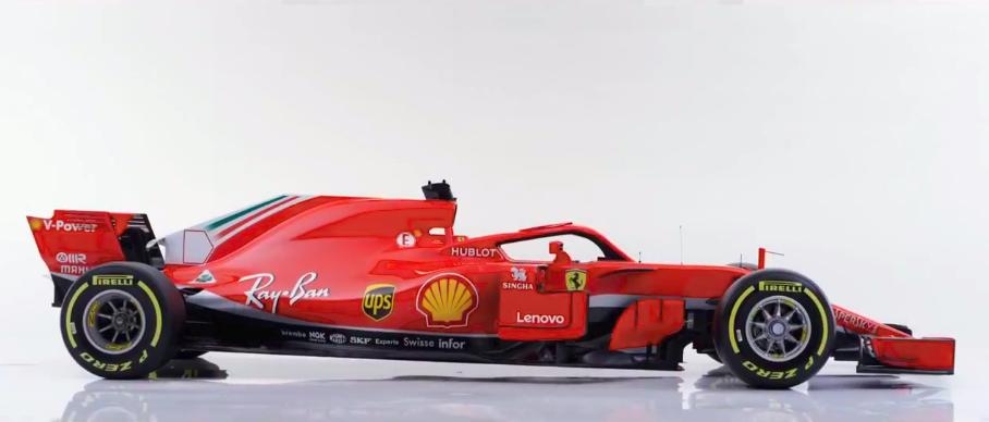 F1 | Presentata la Ferrari SF71-H 5