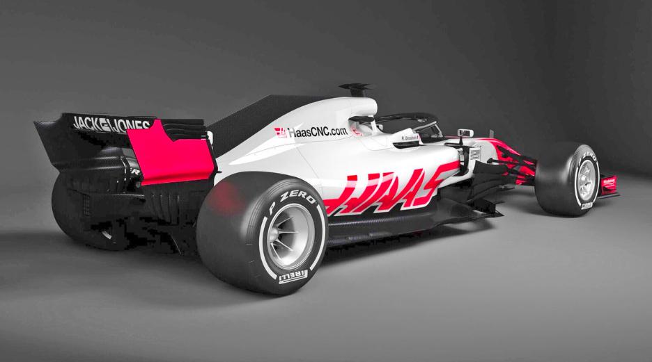 F1 | Haas: svelati i primi render della VF-18 3