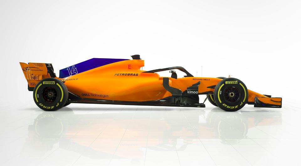 F1 | Mclaren presenta la MCL33 4