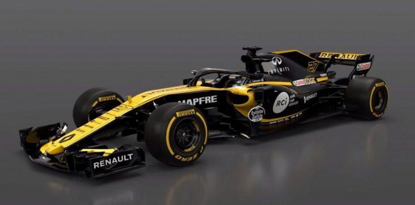 "<span class=""entry-title-primary"">F1 | Renault presenta la R.S.18</span> <span class=""entry-subtitle"">Ecco la vettura che verrà guidata da Hülkenberg e Sainz</span>"