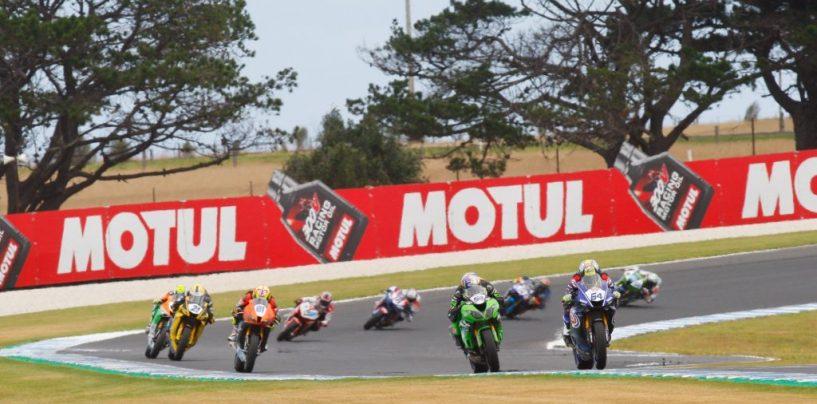 "<span class=""entry-title-primary"">GP Australia: i risultati della SSP600</span> <span class=""entry-subtitle"">Gara ""minata"" dalla bandiera rossa, vince Mahias. Quattro Yamaha davanti a tutti</span>"