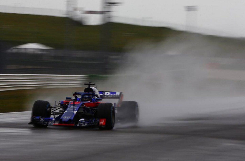 F1 | Prima foto della Toro Rosso STR13 in pista a Misano