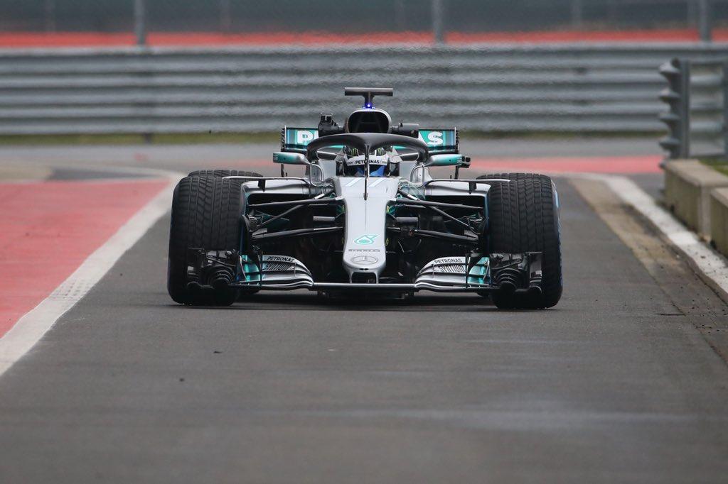 F1 | Le prime immagini della Mercedes W09